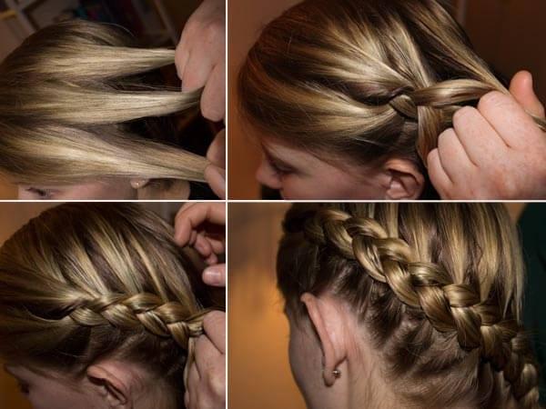 Beautiful Dutch braid