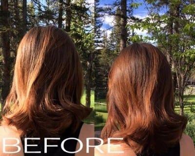 Natural hair colour review