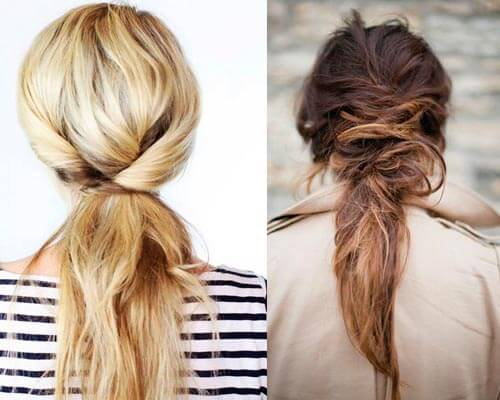 Random ponytail