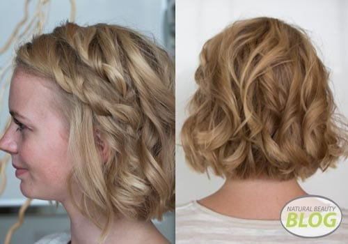 Twisted hairstyle