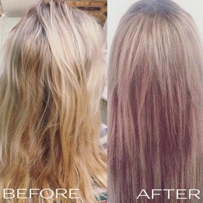 Light ash blonde user review