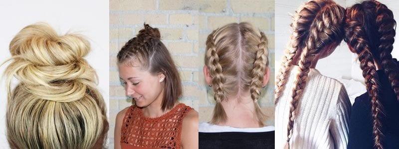Avoiding greasy hair