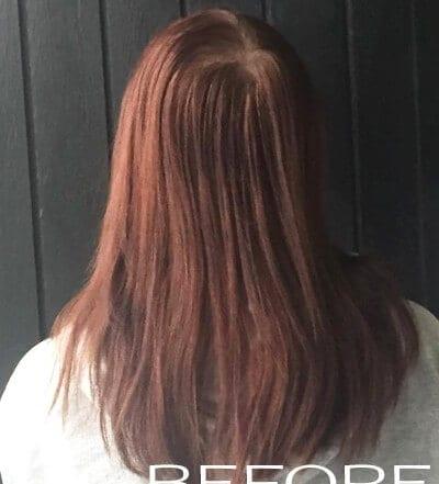 Hair colour user review