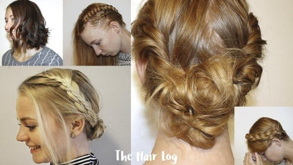 Christmas Hairstyles Easy.Guide For Christmas Hairstyles That Are Easy To Make