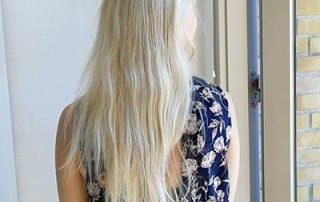 blonde hair colour