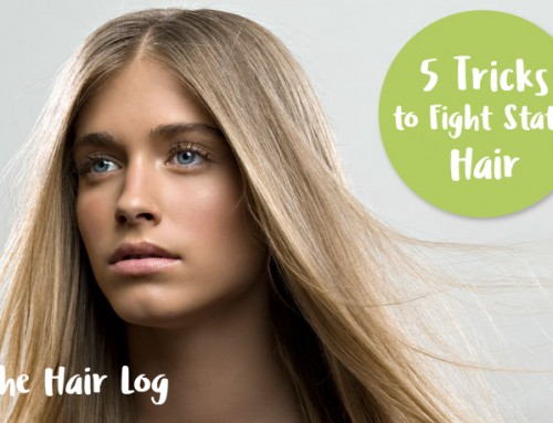 5 Tricks to Fight Static Hair